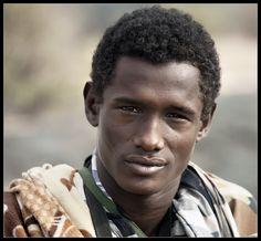 Young man, Ethiopia.