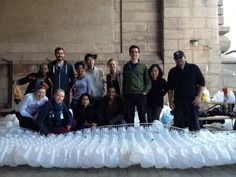 Architects Turn 50,000 Plastic Bottles Into A Dreamy, Cloud-Shaped Shelter