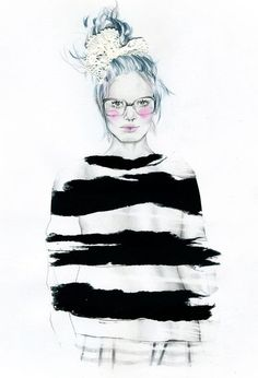 Artist: Natalia Sanabria #fashion #illustration #art