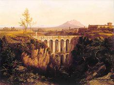 Civita Castellana (VT) #Lazio - Italy - Ponte Clementino Forte #Sangallo e Monte #Soratte - Edward Lear (1844)