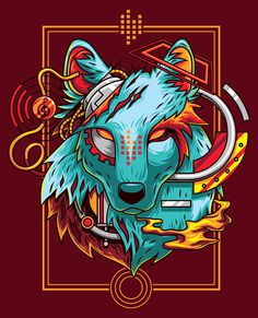 Electric Wolf on Behance