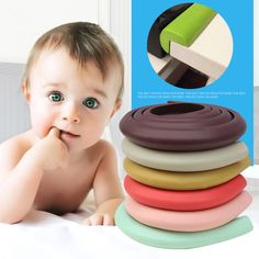 Children Protection 2M Length Table Guard Strip Baby Safety Products Glass Edge Furniture Corner Protection of Children Jamming