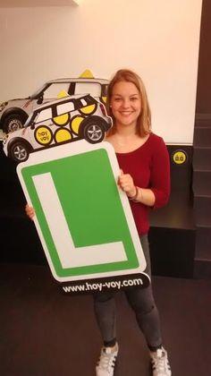 LAURA ISABEL TEIXIDOR!!! #hoyvoy #autoescuela #hospitalet