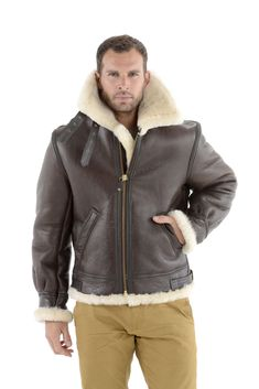 Schott B-3 Sheepskin Bomber Jacket | MR PORTER | New Clothes and