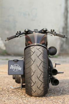 Harley-Davidson Screamin Eagle powered Custombike by Thunderbike Customs.