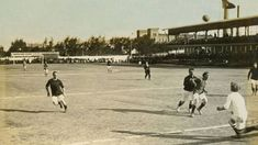 El camp del carrer de la Indústria (avui, carrer de París), el primer terreny propietat del club, es va inaugurar el 14 de març de 1909 i va ser la casa dels blaugranes fins al 1922. S'hi va aixecar una tribuna de dos pisos, la primera en un camp de futbol a Espanya, que va ampliar la capacitat de l'estadi fins a 6.000 espectadors.