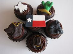 Don't Mess with Texas Cupcakes!