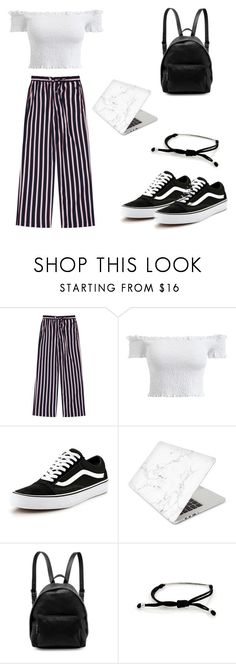 """""""school"""" by swagdeer ❤ liked on Polyvore featuring Vans, Recover, STELLA McCARTNEY and Tiffany & Co."""