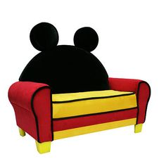Disney Mickey Mouse Icon Toddler Sofa  - Harmony Kids -  Furniture - FAO Schwarz®
