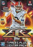 #4: 2014 Topps FIRE NFL Football Factory Sealed Retail Box with 8 Packs and 64 Cards ! Look for Rookie Cards and Autographs of Odell Beckham Jr Teddy Bridgewater Johnny Manziel and Many More ! This Product is loaded and on FIRE ! http://ift.tt/2c0uf8l https://youtu.be/3A2NV6jAuzc