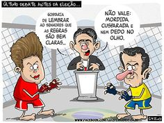 O último debate das eleições 2014 | Humor Político