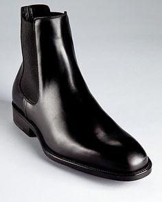 Salvatore Ferragamo Arden Slip-On Dress Boots | Bloomingdale's