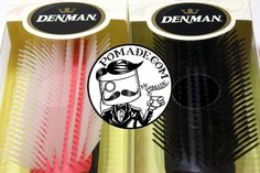 Massage your scalp on dry days or get those sides down and lines clean with a new pomade. Equipped with 9 rows and is anti-static, #denmanbrush #denman #comb #comfort #ease #style  https://www.pomade.com/search?q=denman