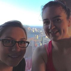 Great way to watch Sydney (and ourselves!) wake up over 250 metres above the city streets. Yoga overlooking the #sydneyharbourbridge and #sydneyoperahouse - you have to be thankful for being able to experience things like this. #yoga #yogainthesky #namaste @bridgeclimb @sydneyoperahouse @cityofsydney @sydney @sydneyfun @sydneytowerskywalk @westfieldsyd by seedyontour http://ift.tt/1NRMbNv