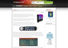 Hanso Player - For an Outstanding Music Experience! http://www.hansotools.com/applications/hanso-player.html via @url2pin