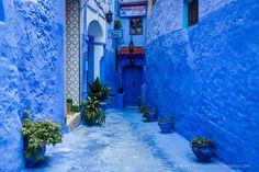 Марокко. Шефшауэн. Синий город.