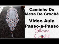 Caminho De Mesa De Crochê Primavera Passo-a-Passo YouTube