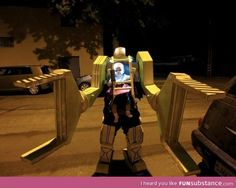 This has to be the greatest father/baby halloween costume ever