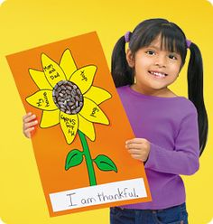 This simple sunflower craft makes it easy for children to express their thanks!
