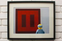 The Red Print - (Mark Rothko, 'Seagram Murals') - LEGO® Art / Photography, by Little Big Art