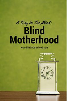 "A Day in the Mind: Blind Motherhood -- I am completely blind in my left eye. My right detects shapes and light. I look down at my kitchen floor, and see my daughter happily staring up at me. ""Baba,"" she says and sticks out her arms. I scoop her up, placin Raising Daughters, Raising Kids, Positive Images, Looking Forward To Seeing You, Three Year Olds, Stick It Out, Special Needs, Etiquette, Parenting Hacks"