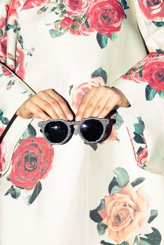 Seeing striped sunnies. http://www.thecoveteur.com/nasiba_adilova