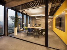 Office tour: british american tobacco offices - istanbul off Interior Design Photos, Office Interior Design, Office Interiors, Home Interior, Cool Office Space, Office Space Design, Office Workspace, Office Designs, Office Spaces