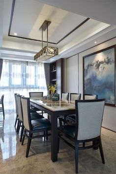 f33b450b393963d8267f... Oriental Style, Oriental Fashion, Dining Rooms, Dining Table, New Chinese, Apartments, Castle, Restaurant, Asian
