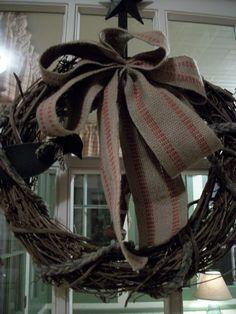 Grapevine Wreath w/Crow