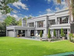 Enjoy of space and ideal contemporary design with this Internet Marketing Company, 4 Bedroom House, Real Estate Business, Contemporary Design, Luxury Homes, South Africa, Mansions, Space, House Styles