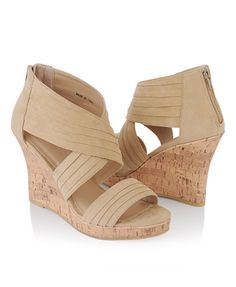 F21 Tiered Wedge Sandals