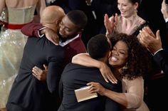 Pin for Later: Die 55 besten Bilder der Oscars 2015 Common, David Oyelowo, John Legend und Oprah Winfrey