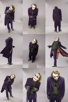 heath ledger joker makeup transformation - Google Search