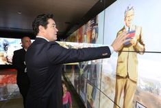 Superman Visits Super Museum: The actor Dean Cain visited Friends of Zion Museum