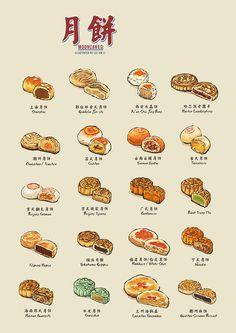 Mooncakes | 月餅 on Behance