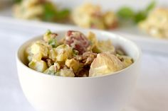 """I'm one of those people mentioned that don't like potato salad. But this recipe claims to be """"The best ever potato salad"""" that even non-likers love. It's worth a try."""