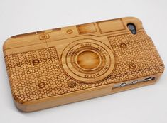 iphone 4 Case /// iPhone 4 Cover /// Wood iPhone Case /// Cell Phone Case. $20.00, via Etsy.