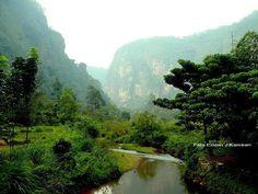 Harau Valley, West Sumatra, Indonesia.