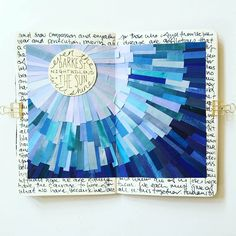 The Sun Season of Words Get Messy Art Journal Journal D'art, Wreck This Journal, Creative Journal, Art Journal Pages, Art Journals, Journal Ideas, Altered Books, Altered Art, Bibel Journal