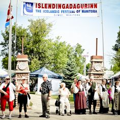 Islendingadagurin - The Icelandic Festival of Manitoba - Gimli, Manitoba, Canada. - Every August long weekend! Riding Mountain National Park, Arctic Tundra, Amazing Adventures, Long Weekend, Trip Planning, Iceland, Festivals, Things To Do, Road Trip