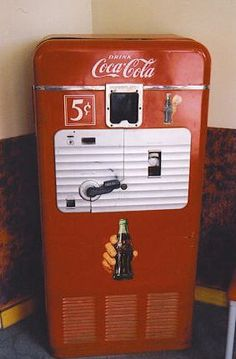 Old School Coke Machines - Gallery