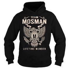 Team MOSMAN Lifetime Member - Last Name, Surname T-Shirt