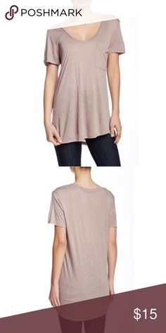 14th & Union Slub Scoop Neck Tee Up for sale is this comfy scoop neck tee. This shirt is perfect for casual wear.                                                            📌 Never worn.                                                                    📌 Purchased from Nordstrom's 14th & Union                                                  📌 All offers are welcome. Name your price ! Nordstrom Tops Tees - Short Sleeve