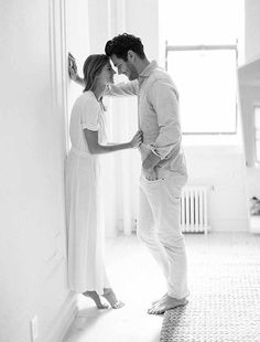 Authentic At Home Engagement Session With The Most Gorgeous Couple Ever - Mon Cheri Bridals
