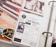 Love this project life card!