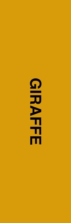 768 x 2390 Types Of Pins, Fun Activities, Giraffe, Company Logo, Logos, Felt Giraffe, Logo, Giraffes