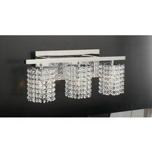 Calais 3 light bathbar in polished chrome homeclick community view the plc lighting plc 72194 contemporary 2f modern three light crystal bathroom vanity light mozeypictures Gallery