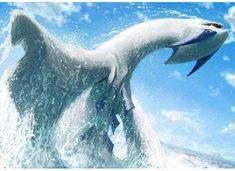Lugia is listed (or ranked) 3 on the list Unbelievably Gorgeous (And Realistic) Pokémon Paintings Better Than Anything You'll See In A Museum Pokemon Vs Digimon, Pokemon Zoroark, Pokemon Eeveelutions, Pokemon Memes, Deadpool Pikachu, Pikachu Art, Cool Pokemon Wallpapers, Cute Pokemon Wallpaper, Pokemon Poster