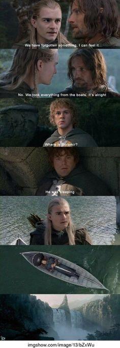 Boromir nooo! XD