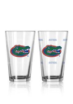 Boelter  16-oz. NCAA Florida 2-pack Color Change Pint Glass Set